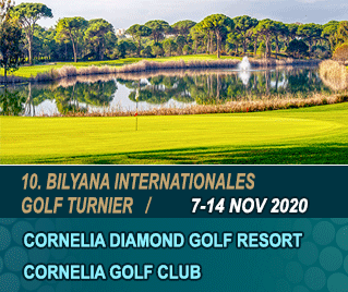 Bilyana Golf - 10. Bilyana Internationales Open Golf Turnier 2020