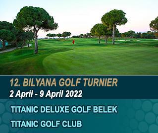 Bilyana Golf - 12. Bilyana Internationales Open Golf Turnier 2022